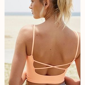 Free People Movement Strappy Back Tighten Up Tank